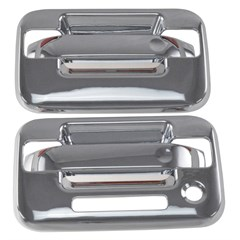 FORD F-150 2DR CHROME DOOR HANDLES (FITS 04-14)