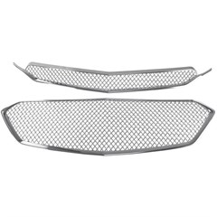 CHEVROLET EQUINOX CHROME GRILLE INSERTS (Fits 16-17)
