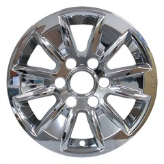 "17"" Chevrolet Silverado Chrome Wheel Skin Set (Fits 2019-2020)"