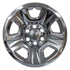 "18"" Dodge Ram 1500 Plastic Chrome Wheel Skin Set (Fits 2019)"