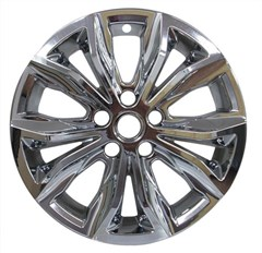 "17"" Chevrolet Malibu Chrome Wheel Skin Set (Fits 2019-2020)"