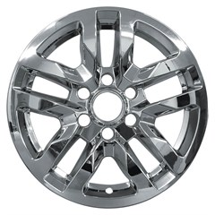 "18"" Chevrolet Silverado Chrome Wheel Skin Set (Fits 2019-2020)"