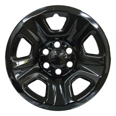 "18"" Dodge Ram Gloss Black Wheel Skin Set (Fits 2019)"