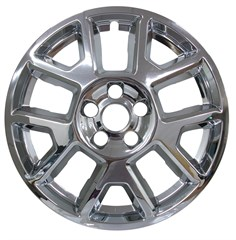 "17"" Jeep Renegade Chrome Wheel Skin (Fits 19-20)"
