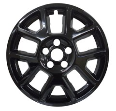 "17"" Jeep Renegade Gloss Black Wheel Skin (Fits 19-20)"