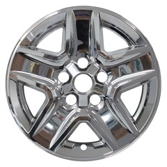 "17"" JEEP GLADIATOR Chrome Wheel Skin Set (Fits 2020)"