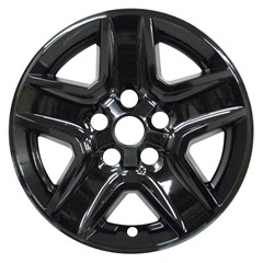 "17"" JEEP GLADIATOR Gloss Black Wheel Skin (Fits 2020)"