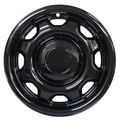 "17"" FORD F-150 GLOSS BLACK WHEEL SKIN (Fits 10-21)"