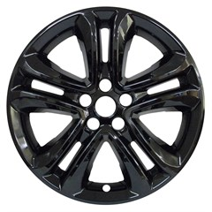 "18"" FORD EDGE GLOSS BLACK WHEEL SKIN (Fits 19-20)"