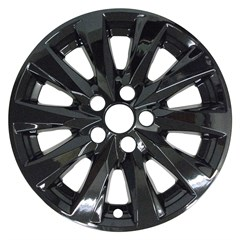 "17"" Toyota Camry Gloss Black Wheel Skin Set (Fits 18-20)"