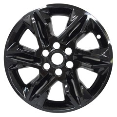 "18"" CHEVROLET BLAZER GLOSS BLACK WHEEL SKIN SET (Fits 2019-20)"