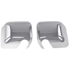 MIRROR COVERS - DODGE CHALLENGER (09-16) - CHROME