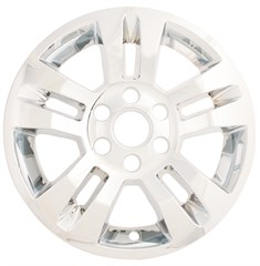 WHEEL SKIN - CHEVY SILVERADO (14-17), SUBURBAN (14-17), TAHOE (14-17) - CHROME