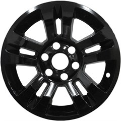 WHEEL SKIN - CHEVY SILVERADO (14-17), SUBURBAN (14-17), TAHOE (14-17) - GLOSS BLACK