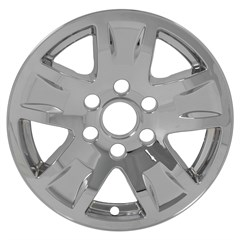 WHEEL SKIN - CHEVY SILVERADO 1500 (14-17), SUBURBAN (15-17), TAHOE (15-17) - CHROME
