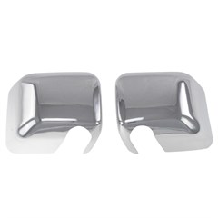 MIRROR COVERS - JEEP WRANGLER (07-17) - CHROME