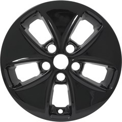 "WHEEL SKIN SET, 16"" KIA SOUL 2014-16, GLOSS BLACK"