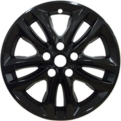 WHEEL SKIN - CHEVY MALIBU (16-17) - GLOSS BLACK