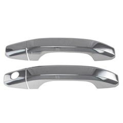 DOOR HANDLES - CHEVY SILVERADO (14-17) / GMC SIERRA (14-17) 2DR W/O KEY - CHROME