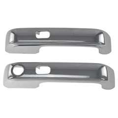 DOOR HANDLES - FORD F-150 (15-17) 2DR W/ KEY - CHROME