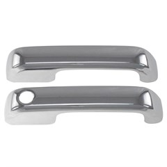 DOOR HANDLES - FORD F-150 (15-17) 2DR W/O KEY - CHROME