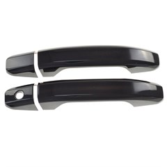 DOOR HANDLE SET, CHEVY SILVER/GMC SIERRA GLOSS BLK