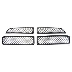 GRILLE INSERT, DODGE CHARGER 2011-14, GLOSS BLACK