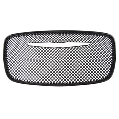 GRILLE INSERT, CHRYSLER 300 2015-16, GLOSS BLACK