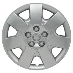 "WHEEL COVER SET - 15"" Seahawk Xtreme - Silver/Met (5)"