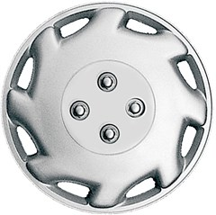 "WHEEL COVER SET - 12"" Laser - Silver (6)"