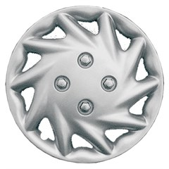 "WHEEL COVER SET - 13"" Gypsy - Silver (6)"