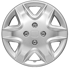 "WHEEL COVER SET - 14"" Lynx - Silver/Met (5)"