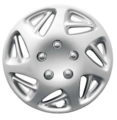 "WHEEL COVER SET - 14"" Ram - Silver/Met (6)"