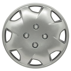 "WHEEL COVER SET - 15"" Bobcat - Silver/Met (6)"