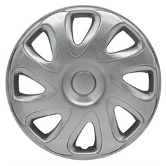 "WHEEL COVER SET - 15"" Bulldog - Silver (4)"