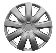 "WHEEL COVER SET - 15"" Camry - Silver  (6"