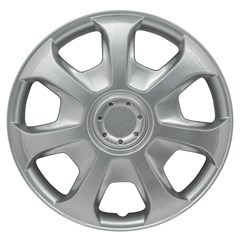 "WHEEL COVER SET - 15"" Caribou - Silver/Met (6)"