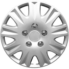 "WHEEL COVER SET - 15"" Civic - Silver (6)"