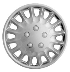 "WHEEL COVER SET - 15"" Colt - Silver/Met (6)"
