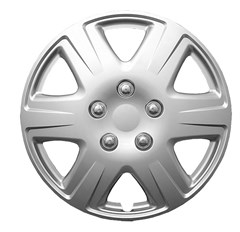 "WHEEL COVER SET - 15"" Corolla - Silver (6)"