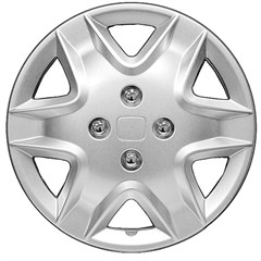 "WHEEL COVER SET - 15"" Lynx - Silver/Met (5)"