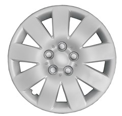 "WHEEL COVER SET - 15"" Puma - Silver/Met (6)"