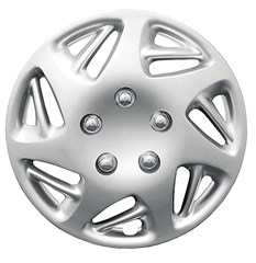 "WHEEL COVER SET - 15"" Ram - Silver/Met (6)"