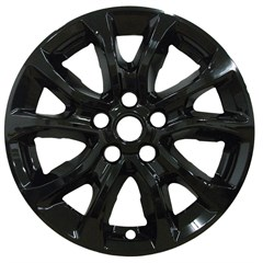 "WHEEL SKIN SET, 17"" CHEVY EQUINOX 2018 & UP, GLOSS BLACK"