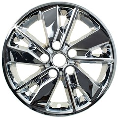 "WHEEL SKIN SET, 16"" KIA OPTIMA 2016-18, CHROME"