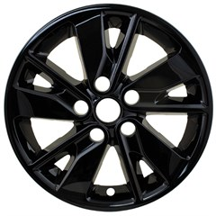 "WHEEL SKIN SET, 16"" KIA OPTIMA 2016-18, GLOSS BLACK"