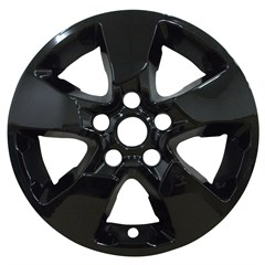 "WHEEL SKIN SET, 16"" KIA SOUL 2017, GLOSS BLACK"