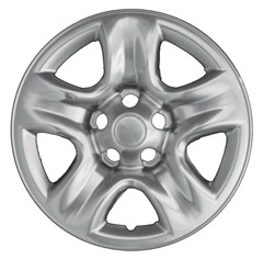 "WHEEL SKIN SET, 16"" TOYOTA RAV4 2001-05, HIGHLANDER 2001-05, CHROME"