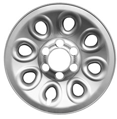 "WHEEL SKIN SET, 17"" CHEVY 1500 2005-13, SUBURBAN 2007-14, TAHOE 2007-14, AVALANCHE 2007-13,  GMC SIERRA 2005-13, YUKON 2007-14, CHROME"