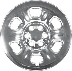 "WHEEL SKIN SET, 16"" NISSAN XTERRA 2005-15, FRONTIER 2005-17, PATHFINDER 2005-12,  CHROME"
